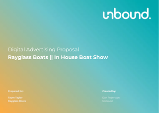 Rayglass In-House Boat Show
