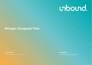Winger Conquest Plan