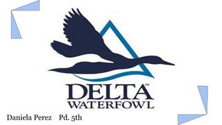 Delta Waterfowl-DPerez