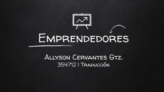 Emprendedores - Cervantes
