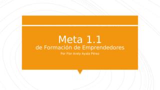 Meta 1.1