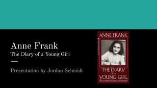 Anne Frank The Diary of a Youn