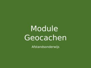 16/06/2020 - Geocachen 1