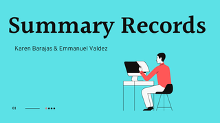 Summary Records
