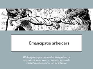 7-Emancipatie van de arbeiders