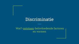 Discriminatie_ontstaan_deel2