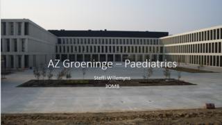 Presentation AZ Groeninge