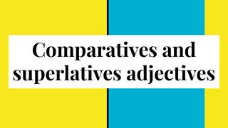Comparative and superlative ad
