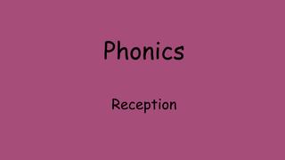Phonics xt & tr
