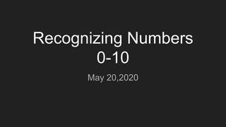 Math Video  for May 20