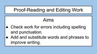 Editing Descriptions