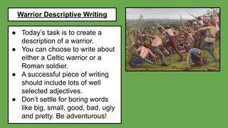 Warrior Descriptions