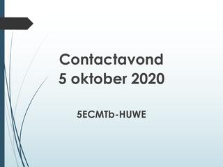 OC 5ECMTb-HUWE - 5 okt 2020