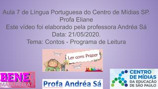 Aula 7 - CMSP  Português 21/05