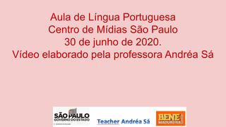 Português - Aula CMSP de 30/06