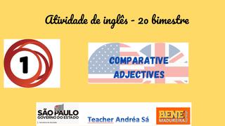 Inglês Atividade 1 - 2o bimest