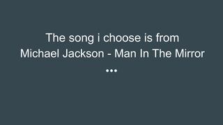song voor Engels, Michael Jack
