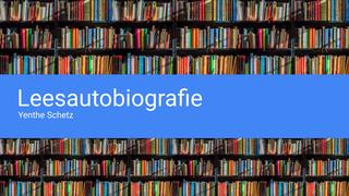 Nederlands: leesautobiografie