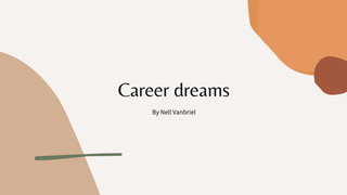 Career dreams