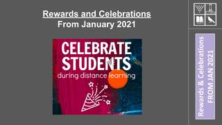 Rewards & Celebrations Student