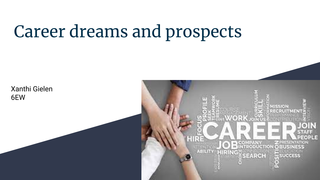 Career dreams and prospects