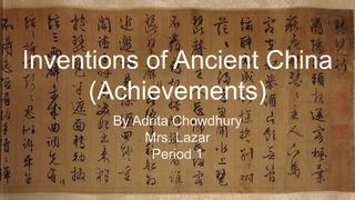History Con-Adrita C.