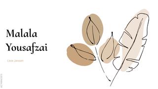 Malala Yousafzai | Nederlands