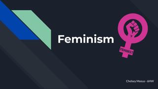 ENG: Feminism