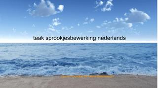 nederlands sprookjesbewerking