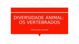 Diversidade animal