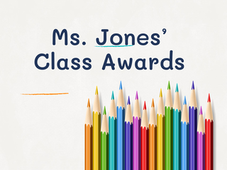 Ms.Jones 3rd Grade Awards 19-2