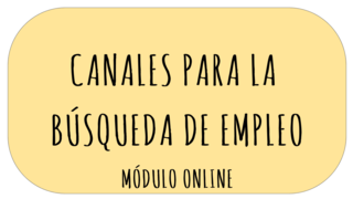 canales búsqueda empleo