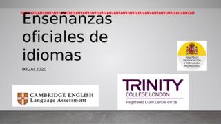 Enseñanzas de idiomas