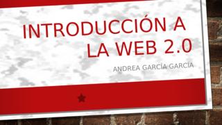 INTRODUCCIÓN A LA WEB 2.0