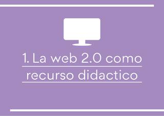 Web 2.0 como recurso didáctico