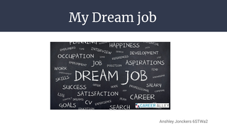 Eng: dream career