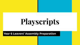 Copy of Leavers' Assembly play