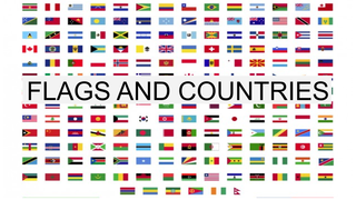 4 FLAGS AND COUNTRIES