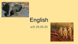 English 29.06.20