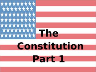 Constitution I