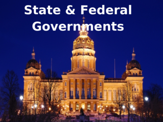 State & Federal Governments