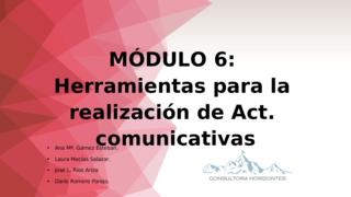 Presentación Módulo 6