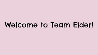 Welcome to Team Elder!