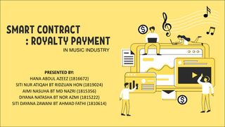Smart Contract-Royalty Payment