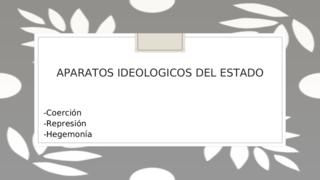 APARATO IDEOLOGICO DEL ESTADO