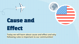 Cause and Effect Lesson