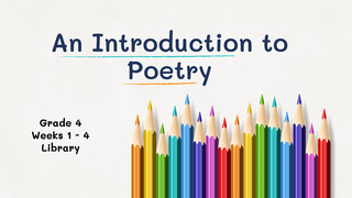 IndroductionToPoetry_4thGrade
