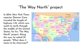 """""""The Way North"""" project"""