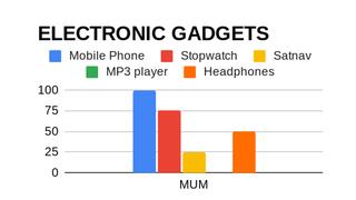 Electronic Gadgets Survey