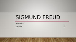 Sigmund Freud, Frans
